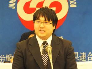 定期大会委員長 (松浦)