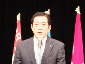 ○2015愛媛中央メーデー大会 中村知事
