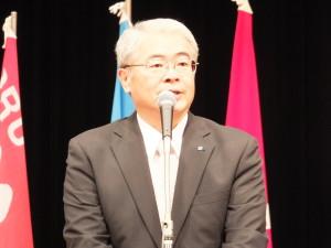 ○2015愛媛中央メーデー大会藤澤副理事長