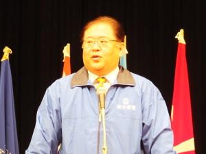 ○2015愛媛中央メーデー大会杉本会長