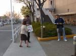 2014.4.9街頭行動①(四国中央支部)